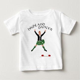 Hochland-Tänzer Ghillie Callum Klinge-Tanz Baby T-shirt