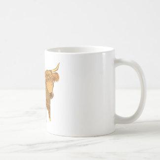 Hochlandkuh (Gurren) Tasse