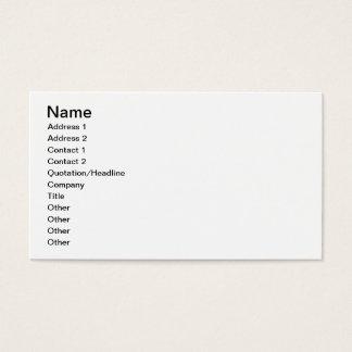 Hochlandkuh Visitenkarten