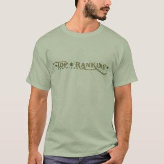 Hochrangiges das T-stirt der Männer Logo - T-Shirt