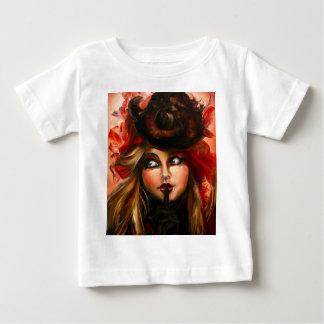 Hochrote Blume Baby T-shirt