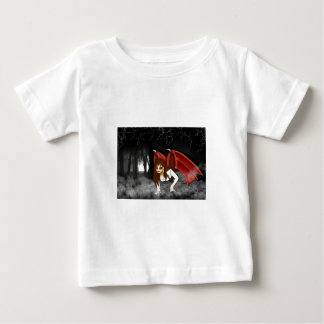 Hochrote Flügel Baby T-shirt