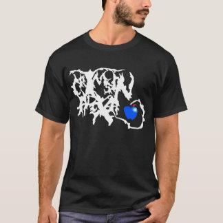 Hochrotes Alexa Logo-Shirt - Dunkelheit T-Shirt