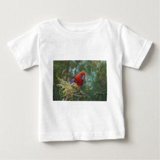 Hochrotes Rosella Baby T-shirt