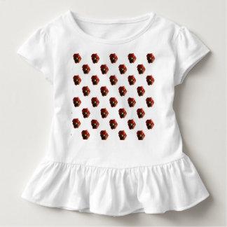 Hochrotes Stiefmütterchen Kleinkind T-shirt