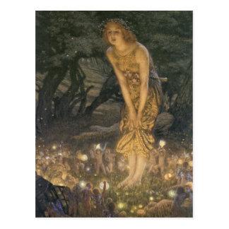 Hochsommer-Eve-Postkarte Postkarte
