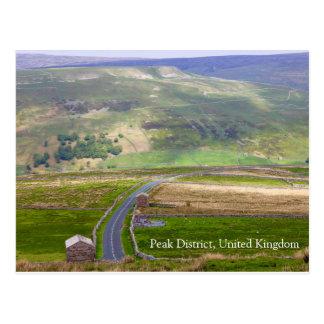 Höchstbezirk, Vereinigtes Königreich Postkarte