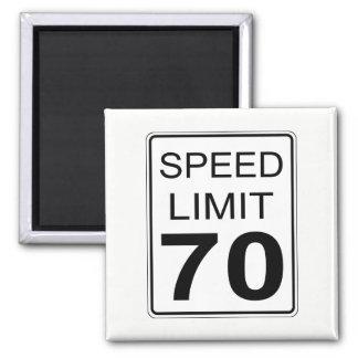 Höchstgeschwindigkeit Quadratischer Magnet