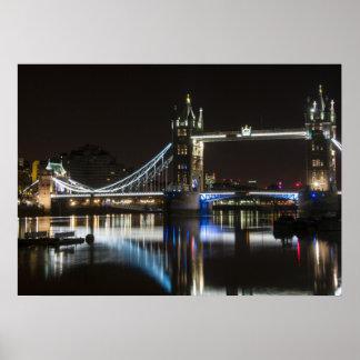 Hochwertiges Poster London Bridge