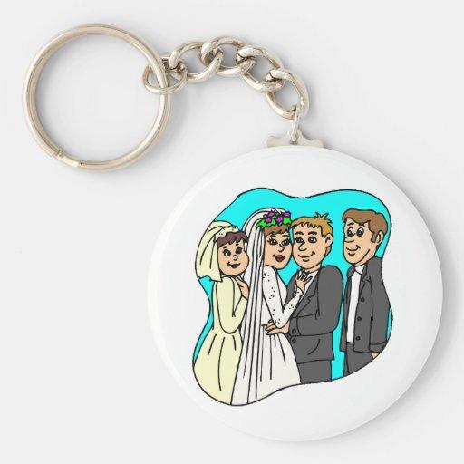 Hochzeit, die 42 plant schlüsselbänder