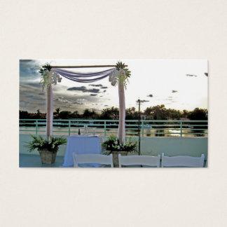 Hochzeit, Ereignisplanung, Hochzeitsplaner Visitenkarte