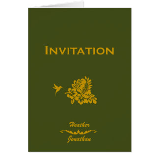 Hochzeit in Urlaubsorts-Einladungs-Pass u. Karte
