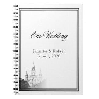 Hochzeit in Urlaubsorts-Zeitschrift Nanowatt Notizblock