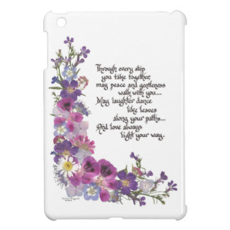 Hochzeit oder Verlobungs-Geschenk iPad Mini Hülle