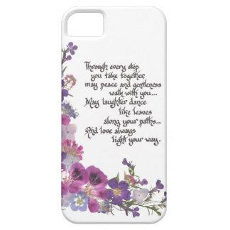 Hochzeit oder Verlobungs-Geschenk iPhone 5 Schutzhülle
