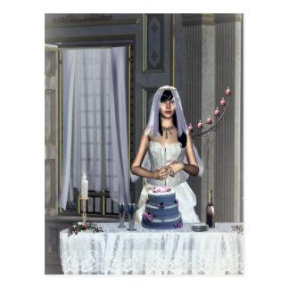 Hochzeit träumt Brautparty-Einladung Postkarten