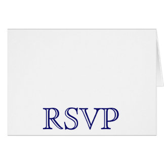 Hochzeit UAWG Karten-Marine-Blau und Weiß Karte