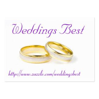 Hochzeiten am besten Mini-Visitenkarten