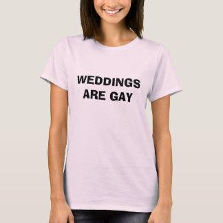 HOCHZEITEN SIND - besonders angefertigt T-Shirt