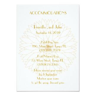 Hochzeits-Anpassungen, großes Gatsby, stilisierter Karte