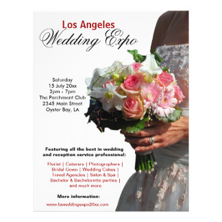 Hochzeits-Ausstellung Flyer