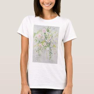 Hochzeits-Blumen für Louisa und Robert T-Shirt