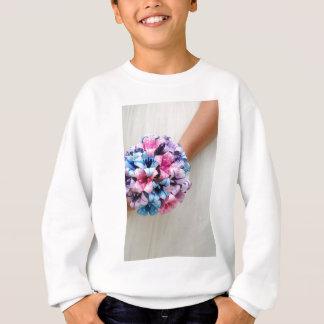 Hochzeits-Blumenstrauß Sweatshirt