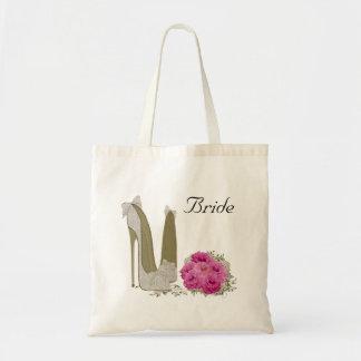 Hochzeits-Braut-Tasche Budget Stoffbeutel