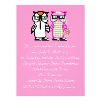 Hochzeits-Braut-u Personalisierte Ankündigungskarte