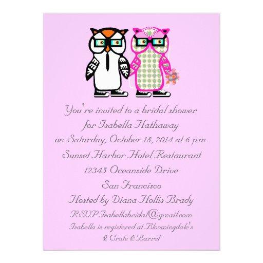 Hochzeits-Braut-u. Personalisierte Ankündigungskarte