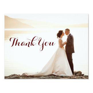 Hochzeits-Brautparty danken Ihnen Anmerkungen Karte