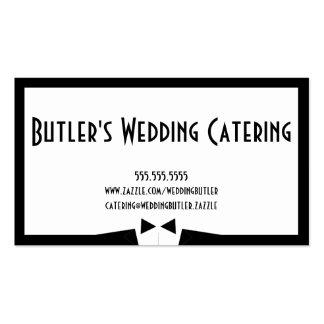 Hochzeits-Catering-Geschäfts-Karte Visitenkarten