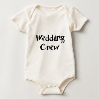 Hochzeits-Crew Baby Strampler
