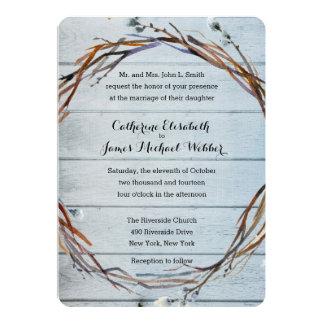 Hochzeits-Einladung bewirtet von den Eltern der Karte