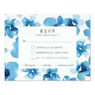 Hochzeits-Einladung *Blue Garden* UAWG Karte