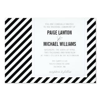 Wedding Invitation   Diagonally