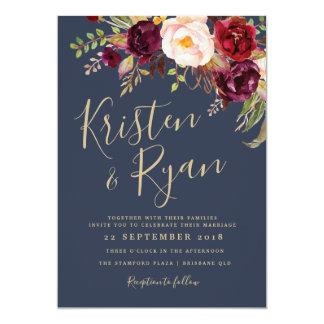 Hochzeits-Einladung - Lucy-Reihe Karte