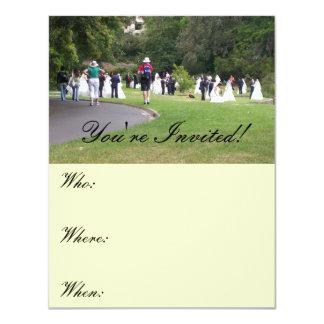Hochzeits-Einladungs-Karten 10,8 X 14 Cm Einladungskarte