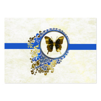 Hochzeits-Empfangs-Abendessen-Auswahlkarte Jumbo-Visitenkarten