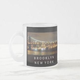 Hochzeits-Entwurf Brooklyns New York Mattglastasse
