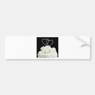 Hochzeits-Erinnerungen Autoaufkleber