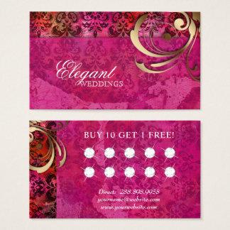 Hochzeits-Event-Planer-indische Visitenkarte