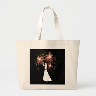 Hochzeits-Feuerwerke Jumbo Stoffbeutel