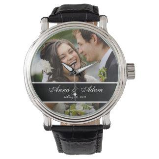 Hochzeits-Foto-Andenken Armbanduhr