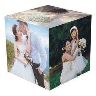 Hochzeits-Foto-Anzeigen-Würfel Würfel