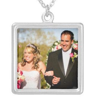Hochzeits-Foto-Halskette