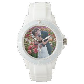 Hochzeits-Foto-Uhr Uhr