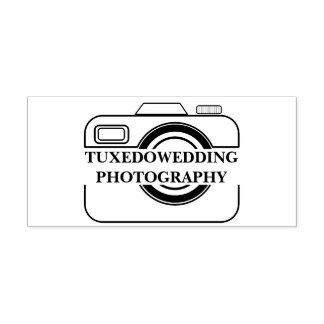 Hochzeits-Fotograf-Kamera-Ikonen-Selbst-mit Tinte Permastempel