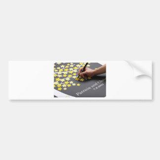 Hochzeits-Gast-Buch Auto Aufkleber