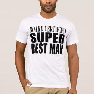 Hochzeits-Gastgeschenk-Brett zugelassener T-Shirt